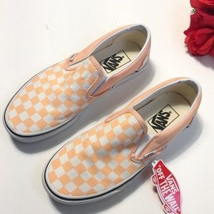 NEW Vans Classic Checkerboard Slip Ok Sneakers